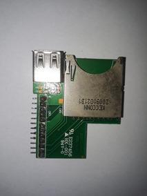 Placa De Conexão Usb Cartão De Memória Rádio Philco Pca 230