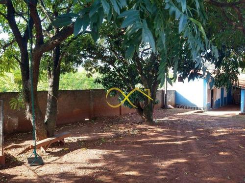 Chácara Com 4 Dormitórios À Venda, 1500 M² Por R$ 380.000,00 - São Domingos - Paulínia/sp - Ch0066