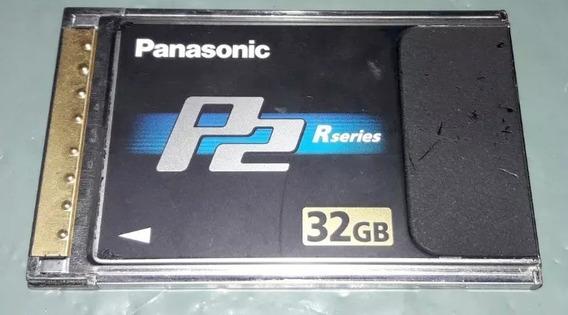 Cartão De Memória Panasonic P2 32gb