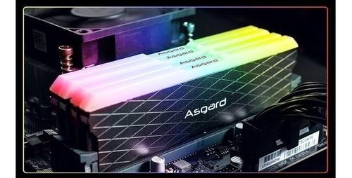 Imagem 1 de 3 de Memória Ddr4 Kit 2x 8gb (16gb) Asgard Rgb | 3200 Mhz