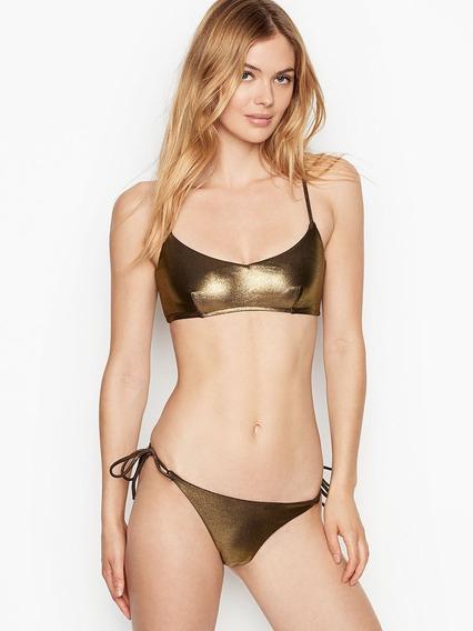 Victorias Secret Traje De Baño Bikini Bra Bottom M