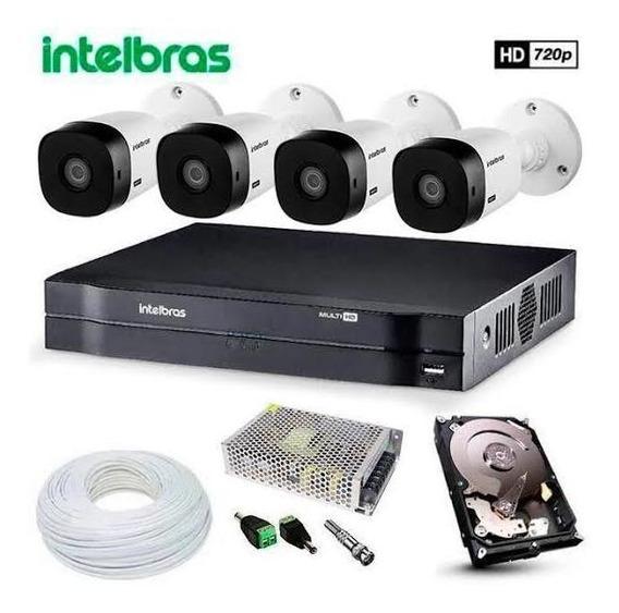 Kit Camera Intelbras 04 Camera