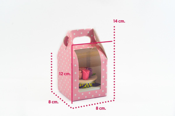 Cajas Cupcakes Panques Muffins Lonchera Boxlunch 1 Cavidad