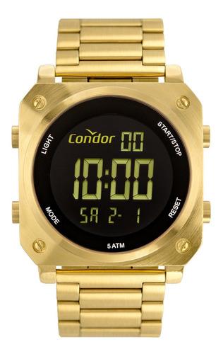 Relógio Condor Masculino Cofo018ac/4d Digital Alarme