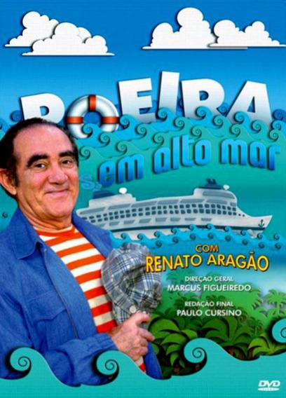 Dvd - Poeira Em Alto Mar Renato Aragão