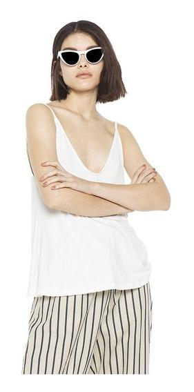 Musculosa Lena Lisa Modal Escote V Mujer Complot