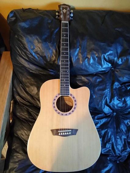 Guitarra Electroacustica Washburn Mod Wd6cen. Vendo/permuto