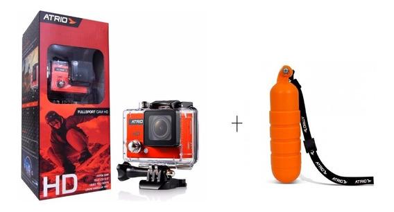 Camera De Ação Atrio Fullsport Hd 720p + Flutuador - Dc186