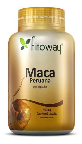 Maca Peruana 60 Caps. - Fitoway - Controle Do Colesterol