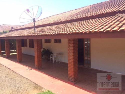 Chácara Residencial À Venda, Fazenda Castelo, Boituva. - Ch0494