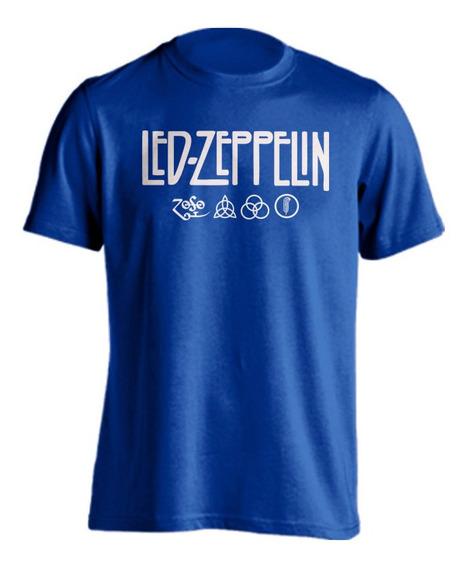 Playera Led Zeppelin Rock