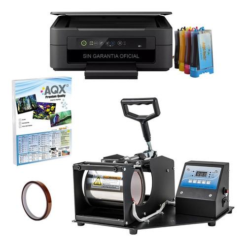 Estampadora Tazas + Impresora Con Sistema De Sublimacion