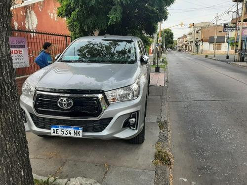 Toyota Hilux 2.8 Cd Srv 177cv 4x4 At 2020 En Garantia Nueva