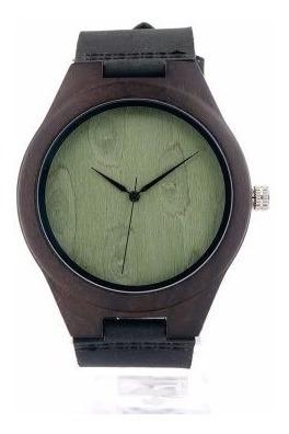 Relógio Unissex Bambu Madeira Analógico Bobo Bird F04 Lindo!
