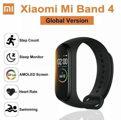 Smartwatch Pulseira Xiaomi Mi Smart Band 4 Original Lacrado