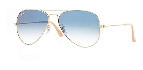 1d06e03c17 Gafas De Sol Aviador Ray-ban® Aviator Blue Gradient