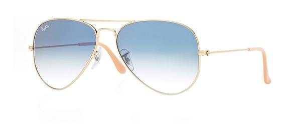Gafas De Sol Aviador Ray-ban® Aviator Blue Gradient