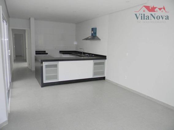 Casa Com 3 Suítes À Venda, 115 M² Por R$ 550.000 - Condomínio Montreal Residence - Indaiatuba/sp - Ca1003