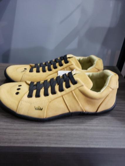 Tênis Osklen Riva Amarelo