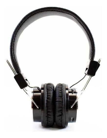 Fone Ouvido Bluetooth Headphone Sem Fio Fm Sd Aux Pc Celular