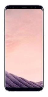 Samsung Galaxy S8+ Dual Sim 64 Gb Cinza-orquídea Vitrine Caixa Reenbalada Nacional Anatel Sem Detalhes Kit Original