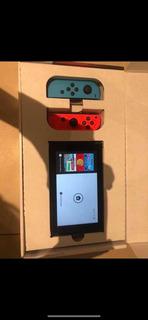 Nintendo Switch - Como Nueva - Una Semana De Uso