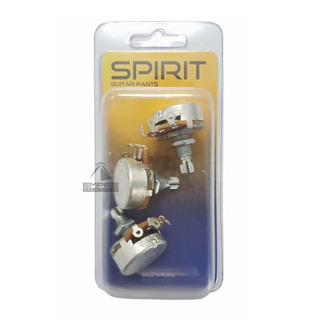 3 Potenciômetro Vl2418h Logarítmico A500k Guitarra Spirit