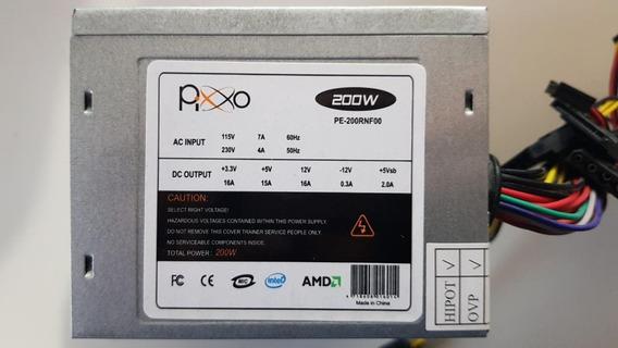 Fonte Atx Pixo Mod Pe-200rnf00 200w Usada Testada Ref: M109