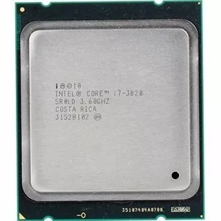 Processador Intel® Core I7-3820 Cache De 10m, 3,60 Ghz