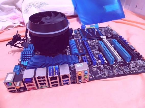 Kit I5 3570k 3.8 Ghz Turbo - Placa Asus P8z68 Deluxe 8gb Ram
