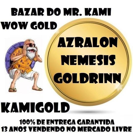 300k Gold Azralon Goldrinn Nemesis Ouro Wow
