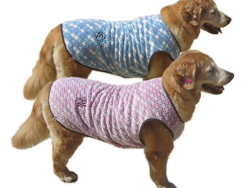 Imagem 1 de 10 de Roupa Cachorro Grande /medio De Malha Quente Frio E Inverno