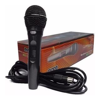 Microfono Moon Audio Pro Dinamico Profesional M23 Cable 3.60