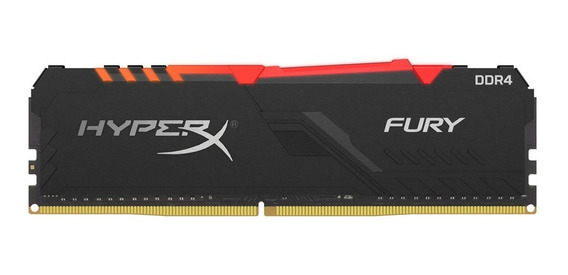 Memoria Pc Gamer Ddr4 Hyperx Fury 8gb 2666mhz Rgb 2