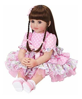 Pursuebaby Muñeca De Princesa Renacer Con Pelo Rubio Rizado