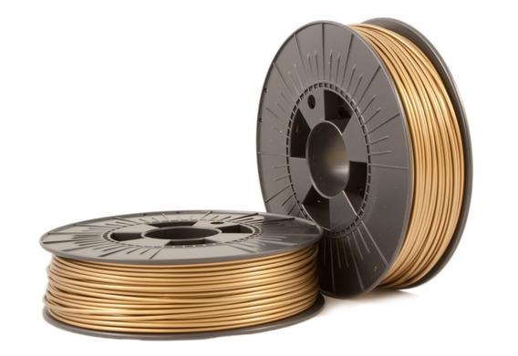 Filamento Pla 1,75 Mm Dourado 1kg Para Impressora 3d