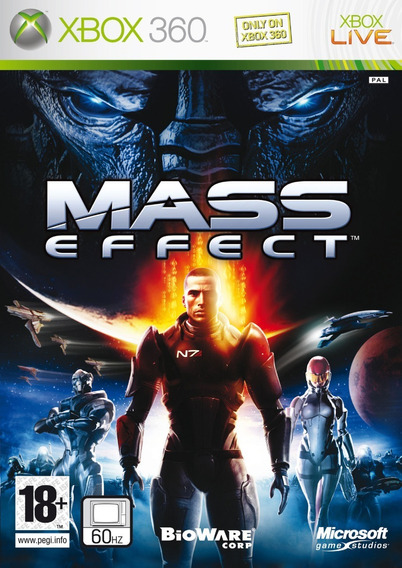 Jogo Mass Effect 1 Xbox 360 One Original Mídia Física Game