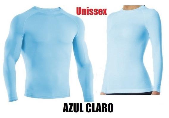 Camisa Térmica P/ Inverno/ Frio Com Proteção Solar Uv50+