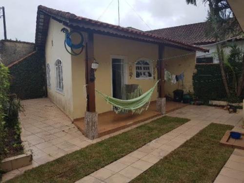 Imagem 1 de 12 de Casa Lado Praia Com 3 Quartos Em Mongaguá -sp 7500-pc