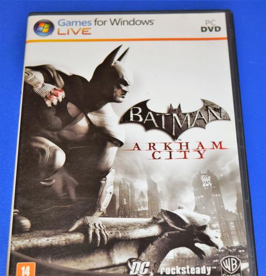 Batman Arkham City Pc Dvd Mídia Física (sem Key)