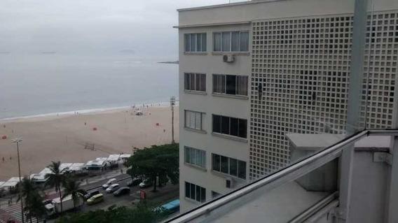 Oportunidade Copacabana!!! Flat Na Quadra Da Praia Reformado! - Fla5160