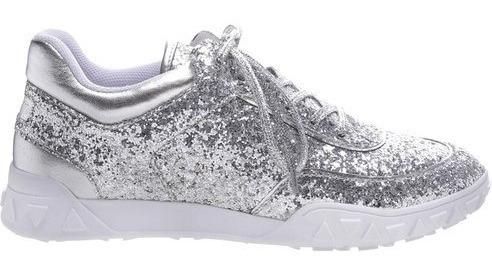 Tênis Glitter Silver. Tenis Schutz Original