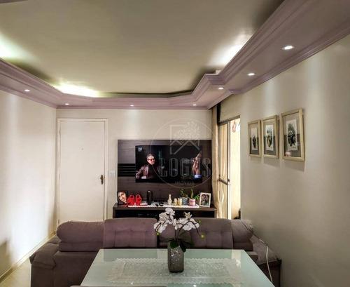 Imagem 1 de 30 de Apartamento Com 3 Dormitórios, 2 Vagas À Venda, 70 M² Por R$ 380.000 - Paulicéia - São Bernardo Do Campo/sp - Ap1433