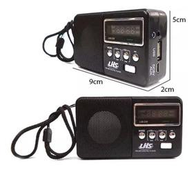 Atacado!! Kit 10 Radios Usb Recarregável Lhs 239.