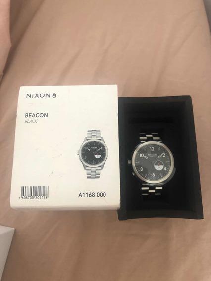 Relógio Nixon Beacon Black (tide Maré )