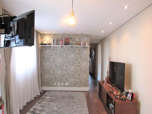 Imagem 1 de 15 de Apartamento - Vila Homero Thon - Ref: 643 - V-643