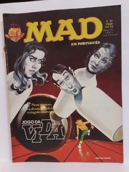 Revista Mad N° 93, Março De 1982 - Editora Vecchi - Rara