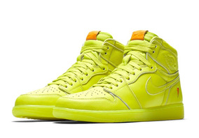Nike Air Jordan I 1 High Gatorade Lemon Lime Cyber 28mx 10us