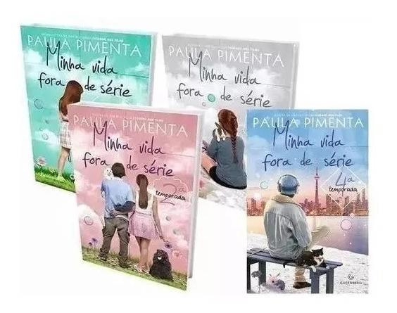 Kit Minha Vida Fora De Série 1 2 3 E 4 Temporadas (4 Livros)
