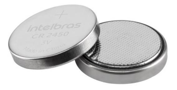 Bateria De Litio 3v Cr 2450 Intelbras (blister Com 5 Un)
